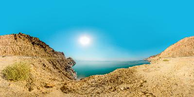 Dead Sea - Mountains